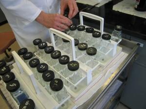 Ozone-test bottles