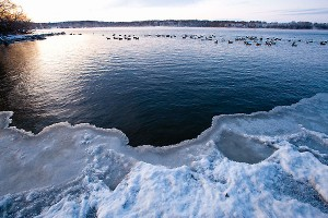 Lake Mendota in the winter. Photo by Bryce Richter.