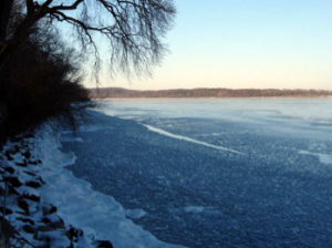 Lake Mendota on January 20, 2007