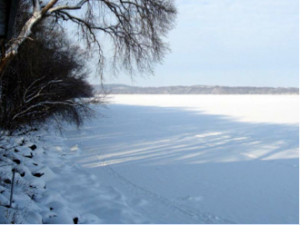 Lake Mendota on January 22, 2007