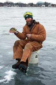 Ice fisherman. Photo taken from flickr.com