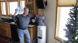 Cole Monka / Wisconsin Center for Investigative Journalism Frank Michna buys bottled water for drinking and cooking in his Caledonia home because of high levels of molybdenum and boron in his well.